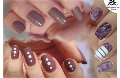 Light Mauve, Saran wrap et Bandes