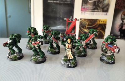 [WIP] Escouade Tactique Dark Angels - Suite