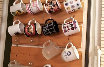 DIY: Tuto du support mural à Mugs!