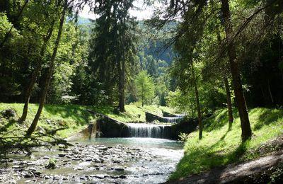 La cascade du Morel - Aigueblanche