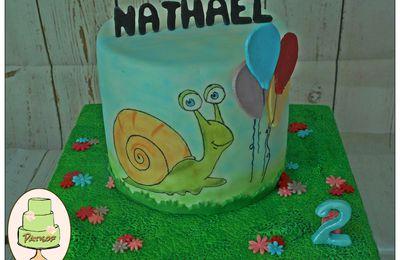 Gâteau Jojo l'escargot