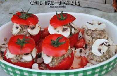 Tomates farcies à la forestière