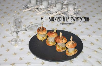Mini burger à la  swiateçzna