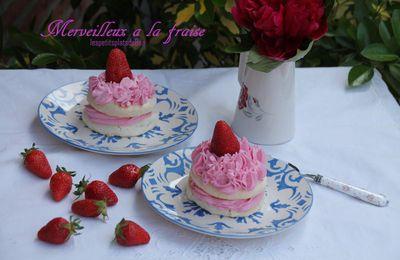 Merveilleux à la  fraise (revisité)