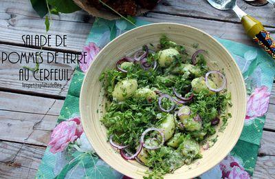 Salade de pommes de terre au cerfeuil