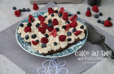 Cake au thé aux fruits rouges
