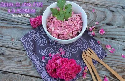 Salade de chou d'été à la polonaise
