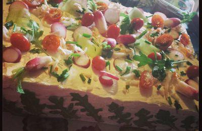 Sandwich Cake - Le gâteau frais de l'apéro