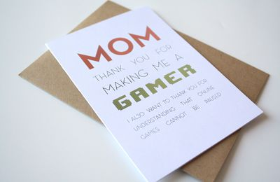 Fête des mères geek - Gamer Mother's Day