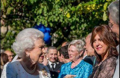 Playing for HR the Queen Elizabeth II, 2014 in Paris