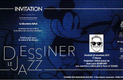"""""""DESSINER LE JAZZ"""" - 20/11/2015"""