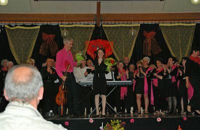 Concert annuel à Couzeix le 30 mai 2015
