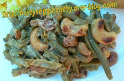 French beans with doenjang
