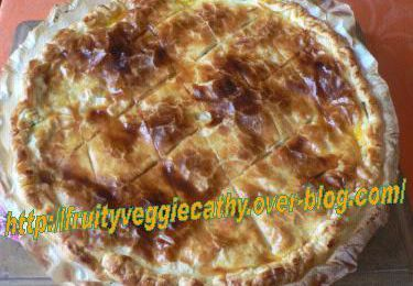France has a veggie tooth – Leek pie from Picardy