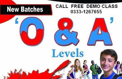 CLIFTON DHA Tutors 0333-1267655 Academy O/A levels Karachi.