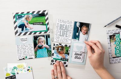 STAMPIN'UP vidéo gratuite  cartes souvenirs et Cie   / Memories & More by Stampin' Up!