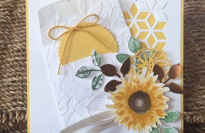 Stampin' Up Porte Ouverte Nouveau Catalogue Saisonnier  60530 Oise Récolte au pinceau / Painted Harvest stamp set bundle