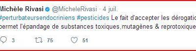 De plus en plus fort: Karima Delli signe une pétition adressée à... Karima Delli sur les perturbateurs endocriniens