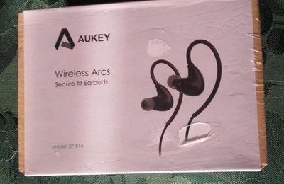 J'ai testé... AUKEY Écouteur Bluetooth 4.1 Oreillette Sport Intra auriculaire