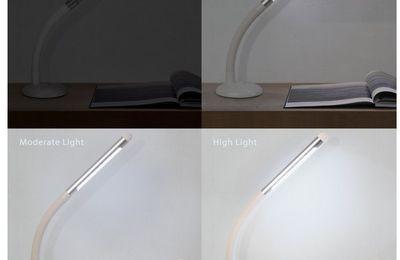 J'ai testé pour vous : Lampe Led Rechargeable Aglaia (Concours Facebook)