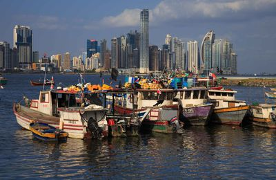 Panama city et son canal