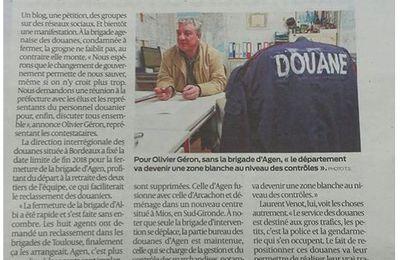 Douane : la dernière année de la brigade d'Agen s'annonce agitée
