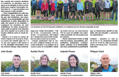 12/10/2017 - Article Ouest-France