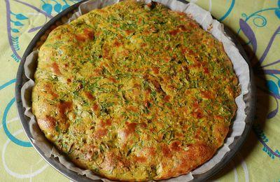 PLAT DU JOUR (7) Tarte aux fanes de carottes