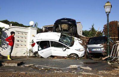 Inondations sur la Côte-d'Azur : 21 morts, 2 disparus retrouvés vivants
