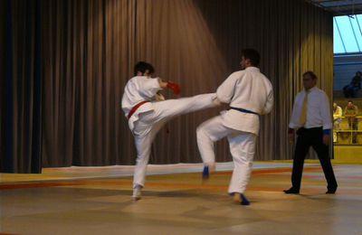 Tournoi départemental ju-jitsu combat - 2