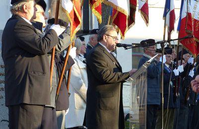 Hommage aux victimes de la guerre d'Algérie