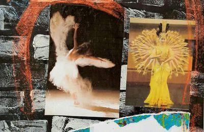 Les Porte-Manteaux, Art de rue, Danse dans la farine, Holi et Rangoli