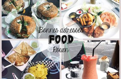 Mes adresses food Rouen