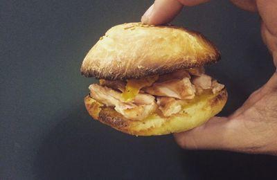 Mini-Hamburger Saumon