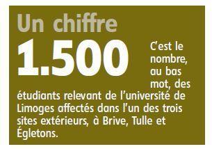 France 3 Aquitaine, La Montagne, le Populaire (5-6/9/17) : Mesures financières drastiques à l'université de Limoges