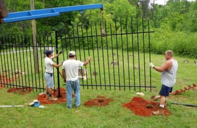 Fence Installation with Professional Help