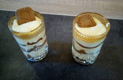 Tiramisu Caramel beurre salé et Speculoos ♥♥♥♥