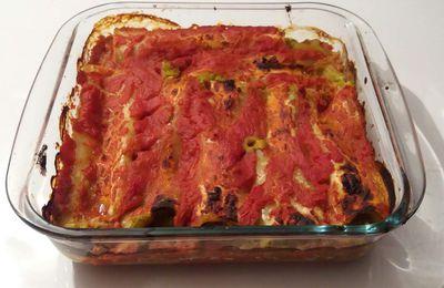 Cannelloni Express aux légumes