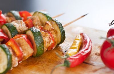 "Special Barbecue ""Brochettes et Marinades Healthy"""
