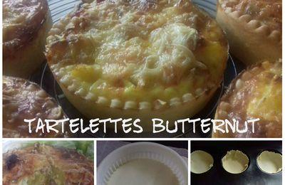 Tartelettes Butternut