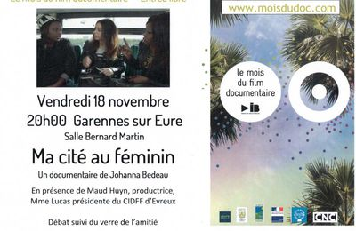 PROJECTION DOCUMENTAIRE A GARENNES !!