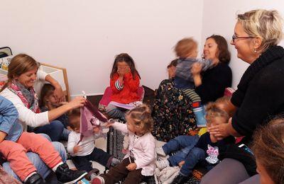 9 Bébés lecteurs ont fait leur rentrée ce matin !!
