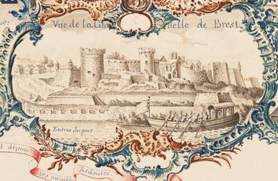 LE DUC DE CHARTRES A BREST (1775)... DU RIFIFI POUR UN CANOT !