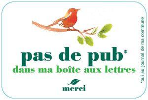 Dire stop aux prospectus