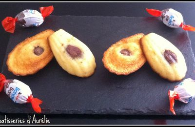 Madeleines aux schokobons