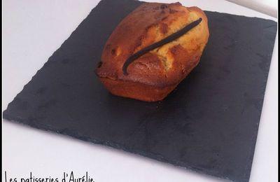 Gâteau au yaourt à l'huile d'olive et vanille