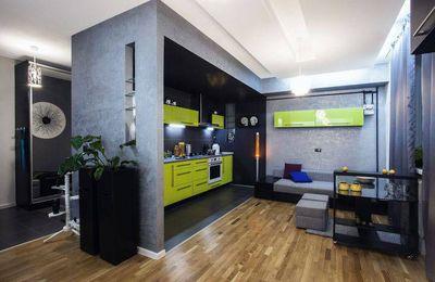 Meubles sur mesure pour ce petit studio de 25 m sodzign for Decoration appartement jeune