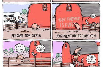 """[Humour] """"Pig Latin"""" (""""Latin de cuisine"""") de Grant Snider."""
