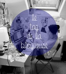 TAG: Quelle blogueuse êtes-vous???TAG: What blogger are you ???