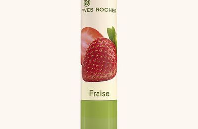 Le baume Nourrissant Yves Rocher senteur fraise- The Yves Rocher Strawberry  Nourishing Lip Balm